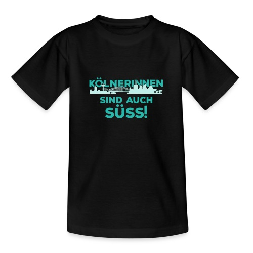 Für alle Kölnerinnen und Kölnfans! - Teenager T-Shirt