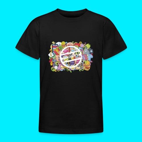 maglia logo doodle - Maglietta per ragazzi