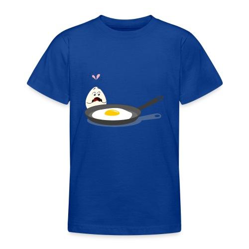 Broken Love, Eier, Liebespaar - Teenager T-Shirt