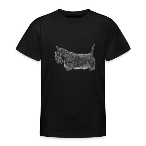 skotsk terrier ub - Teenager-T-shirt