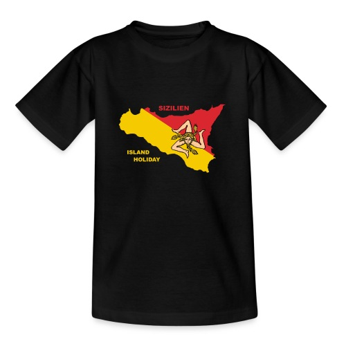 Sizilien Italien Holiday Sicily - Teenager T-Shirt