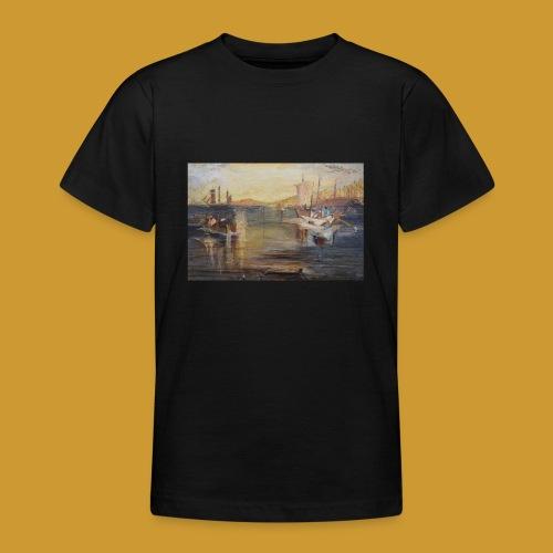 White Fishing - Mark Noble Art - Teenage T-Shirt