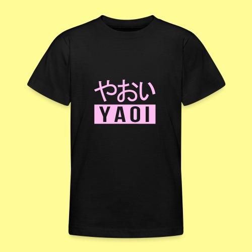 Pink Yaoi やおい - Maglietta per ragazzi
