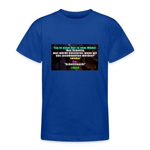 SchnitLauch - Teenager T-Shirt