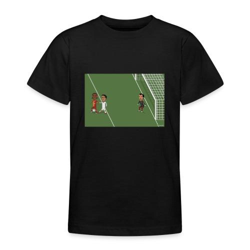 Backheel goal BG - Teenage T-Shirt
