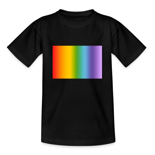 Hintergrund Regenbogen soft - Teenager T-Shirt