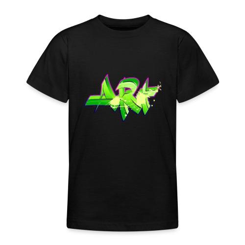 old school hip hop breakdance 17 - T-shirt tonåring