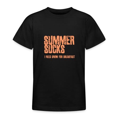 SUMMER SUCKS - Teenager T-shirt