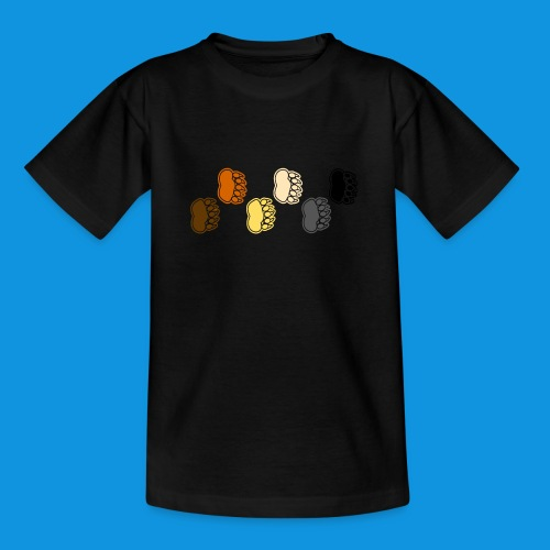 Bear Paws tank - Teenage T-Shirt