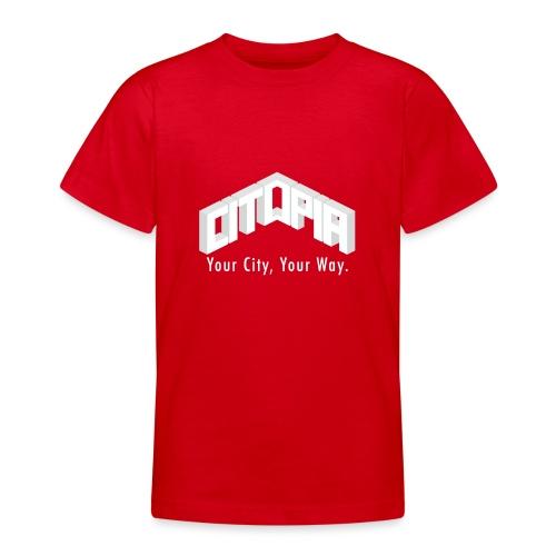 Logo with Slogan - Teenage T-Shirt