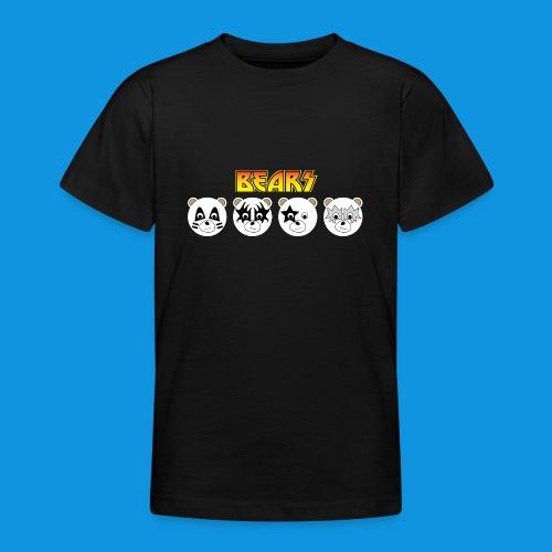 Kiss Bears.png - Teenage T-Shirt