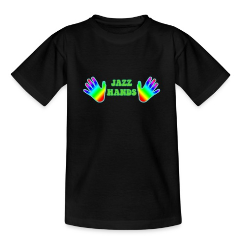 Jazz Hands - Teenage T-Shirt