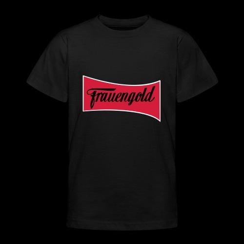 Frauengold 3col - Teenager T-Shirt