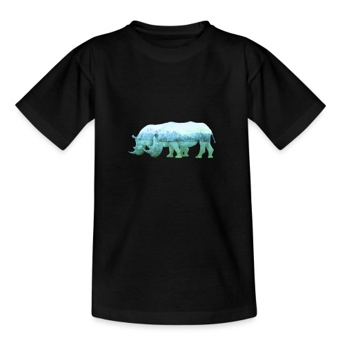 RHINOS, DIE NASHÖRNER IN DEN ALPEN - Teenager T-Shirt