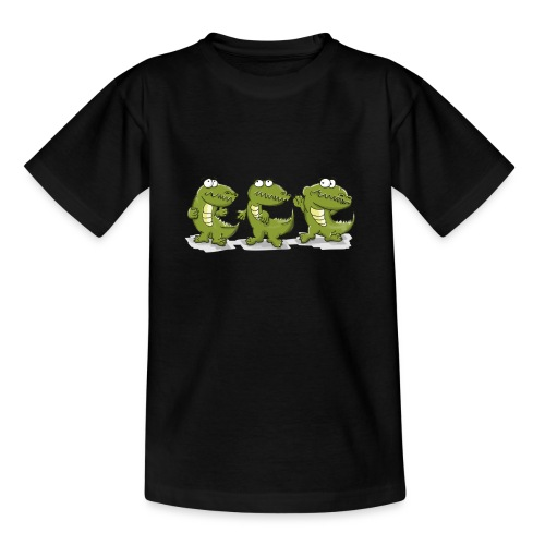 Nice krokodile - Teenager T-Shirt
