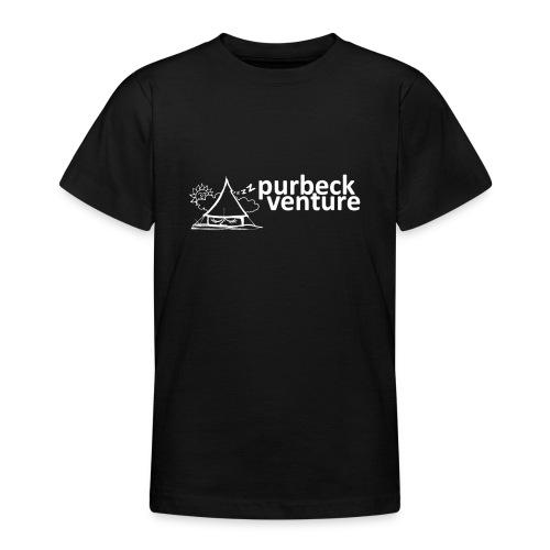 Purbeck Venture Sleepy white - Teenage T-Shirt