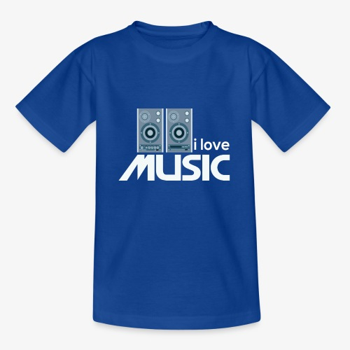 Amo la música 02 - Camiseta adolescente