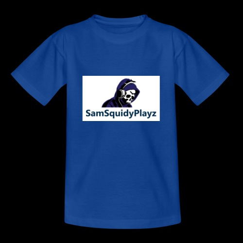 SamSquidyplayz skeleton - Teenage T-Shirt