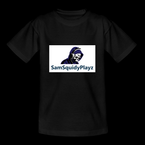 SamSquidyplayz skeleton - Teenage T-Shirt