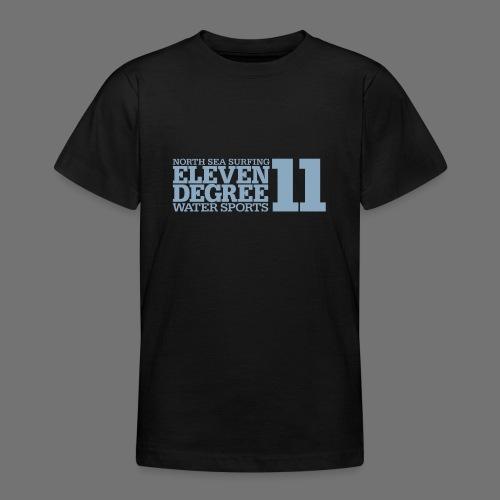 Surfing - eleven degree watersports (light blue) - Teenage T-Shirt