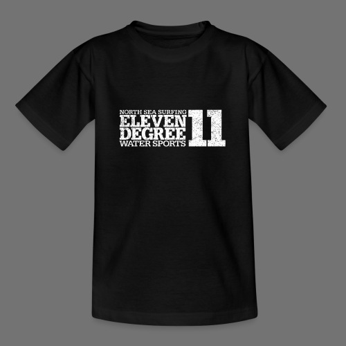 eleven degree white (oldstyle) - Teenage T-Shirt