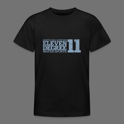 eleven degree light blue (oldstyle) - Teenage T-Shirt