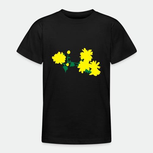 Asian flowers - Teenage T-Shirt