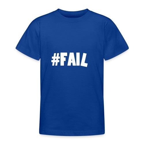 FAIL / White - T-shirt Ado