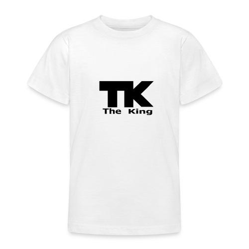 The King med ram - T-shirt tonåring