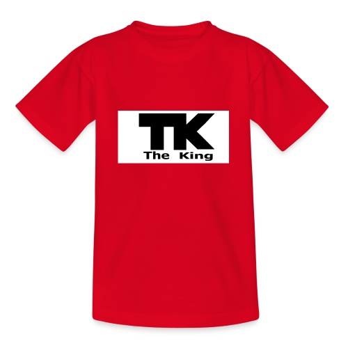 The King med ram - T-shirt tonåring