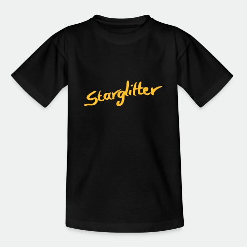 Starglitter - Lettering - Teenage T-Shirt