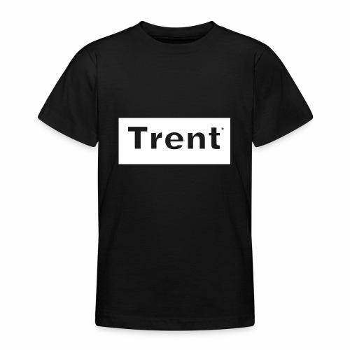 TRENT classic white block - Teenage T-Shirt