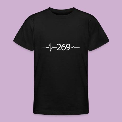 269 - RESPEKTIERE LEBEN - Teenager T-Shirt