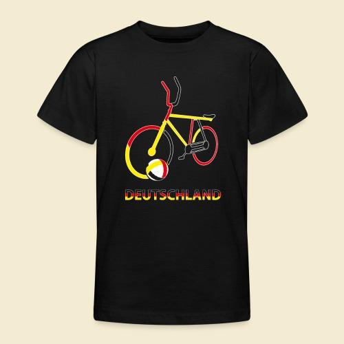 Radball | Deutschland Rad - Teenager T-Shirt