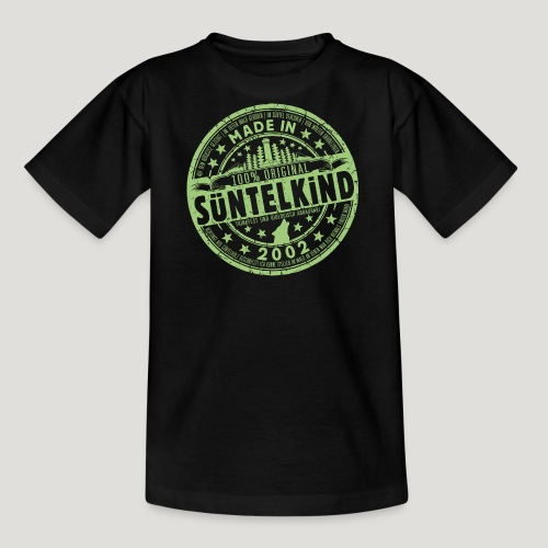 SÜNTELKIND 2002 - Das Süntel Shirt mit Süntelturm - Teenager T-Shirt