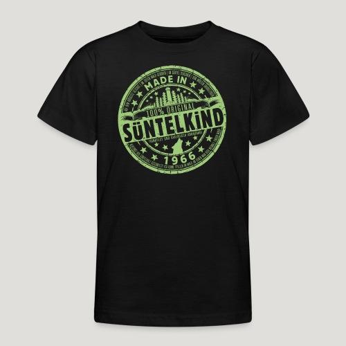 SÜNTELKIND 1966 - Das Süntel Shirt mit Süntelturm - Teenager T-Shirt