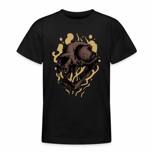 Cat Skull - Nuorten t-paita