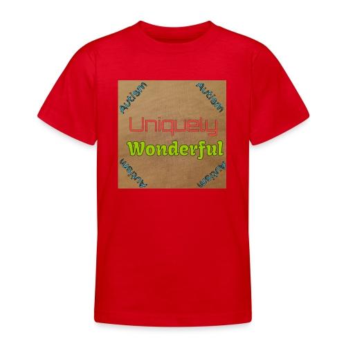Autism statement - Teenage T-Shirt