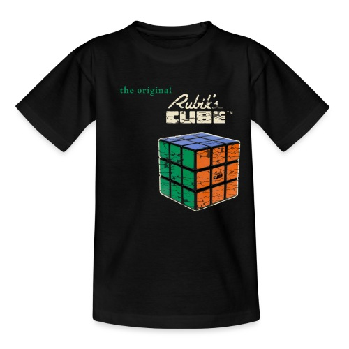 Rubik's Cube The Original - Teenage T-Shirt