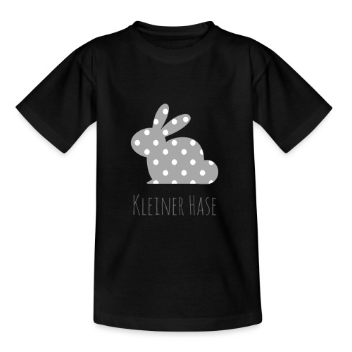 Hase grau - Teenager T-Shirt