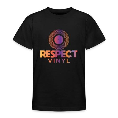 Disco Sisco • Respect Vinyl - Teenager T-Shirt