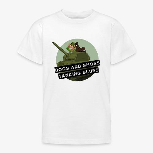 logo dogs nieuw - Teenager T-shirt
