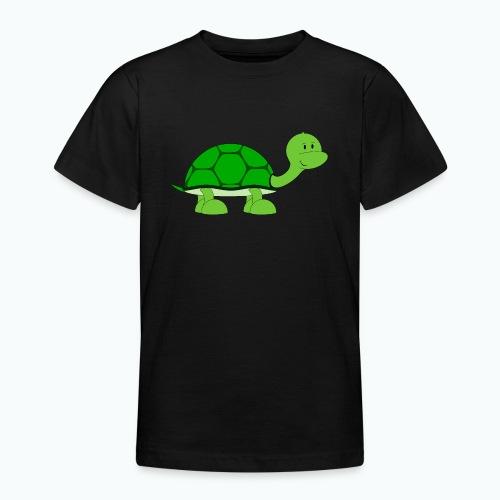 Totte Turtle - Appelsin - T-shirt tonåring