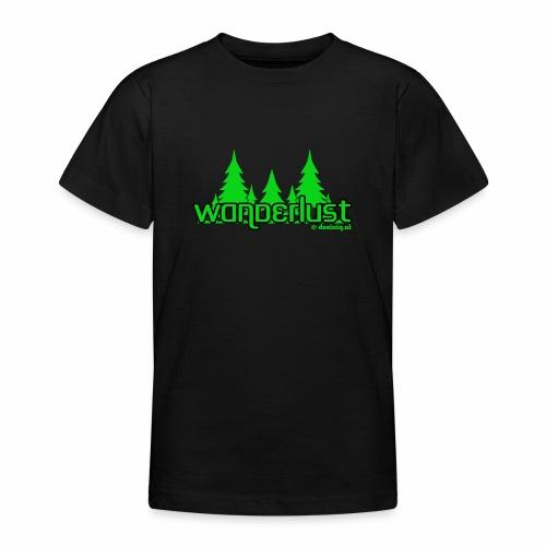 Wanderlust - Teenager T-shirt