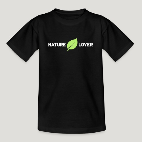 Nature Lover - Teenager T-Shirt