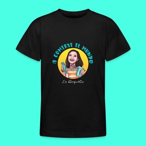 La Cooquette Mundo - Camiseta adolescente