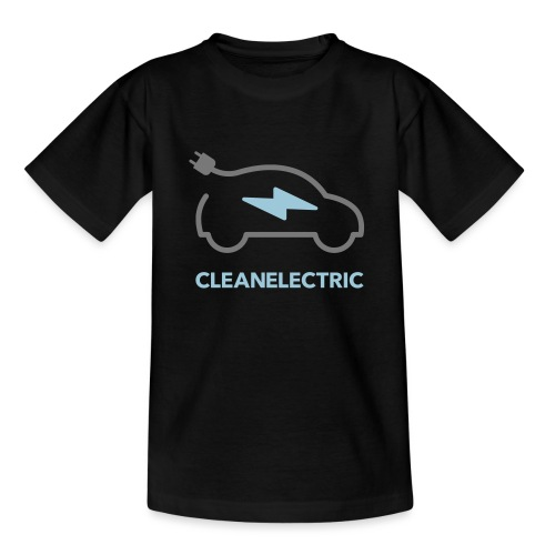 CLEANELECTRIC Logo - Teenager T-Shirt