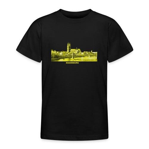 Magdeburg Dom Sachsen-Anhalt Deutschland Elbe - Teenager T-Shirt