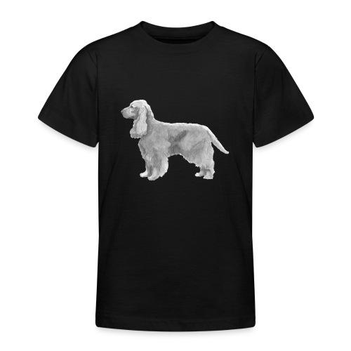 English cocker spaniel golden - Teenager-T-shirt