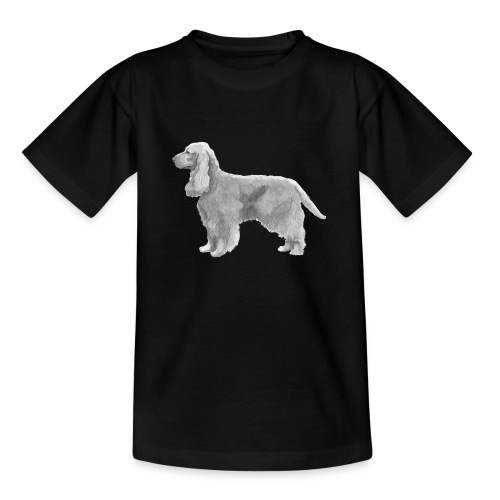 English cocker spaniel golden - Teenager-T-shirt